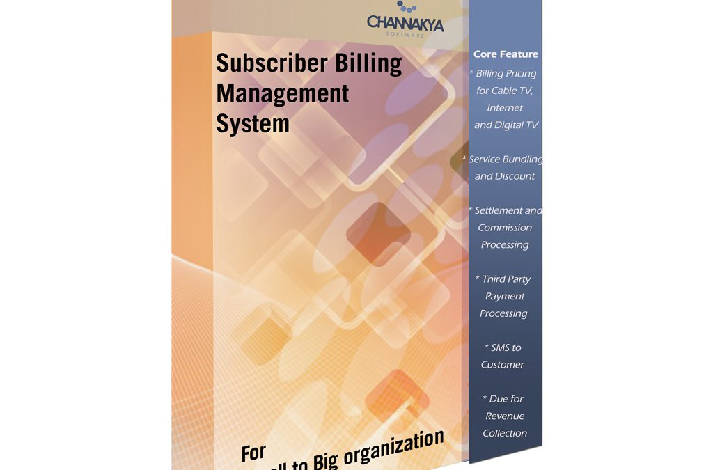 Subscriber Management System With Billing Feature